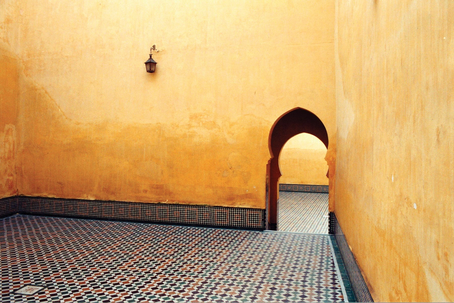 Palace-Courtyard-Meknes-Morocco