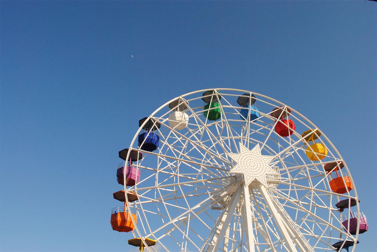 Tibidabo Amusement Park, Barcelona. Photo by Andrea Enríquez Cousiño