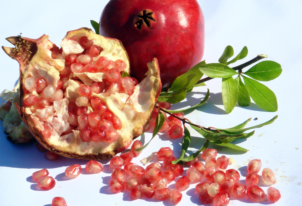 The pomegranate, symbolising fertility, is the national fruit of Armenia.