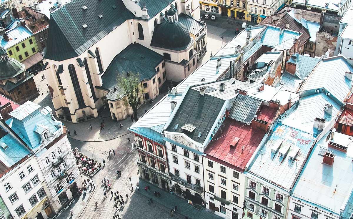 Lviv, Ukraine. Photo by John-Mark Kuznietsov