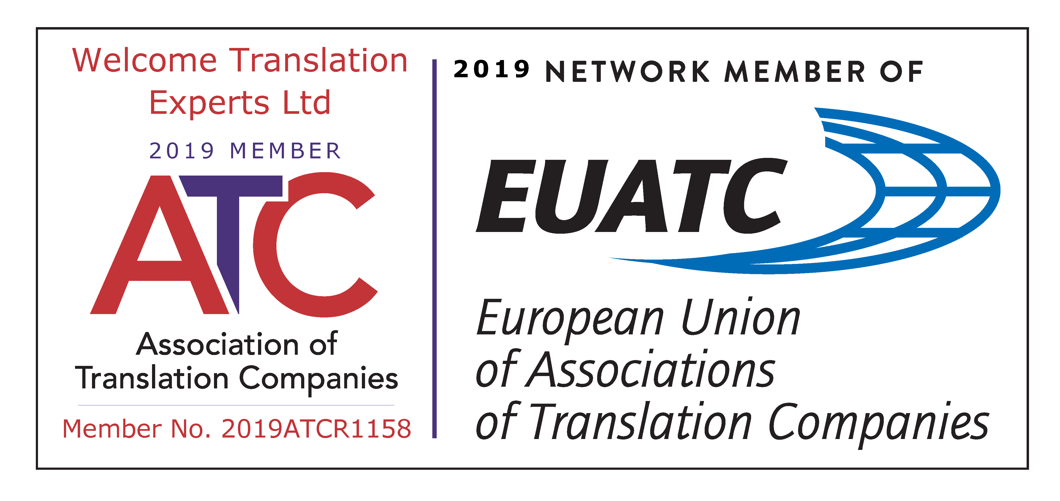 Member of the Association of Translation Companies (ATC)